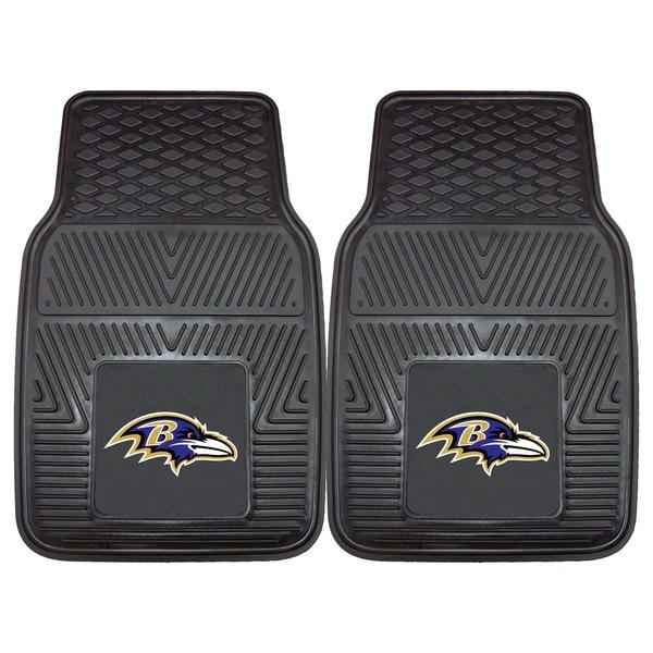 Fanmats Baltimore Ravens 2-piece Vinyl Car Mats