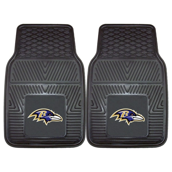 19109085 Shop NFL - Baltimore Ravens 2 Piece Vinyl Car Mat Set 17