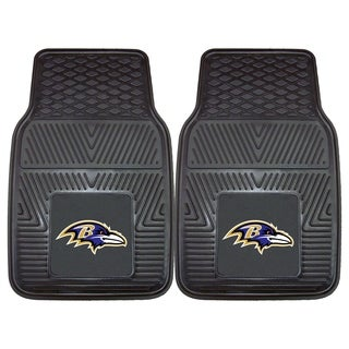 Fanmats Baltimore Ravens 2-piece Vinyl Car Mats