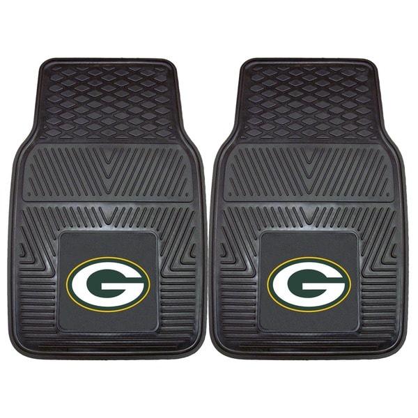 Fanmats Green Bay Packers 2-piece Vinyl Car Mats