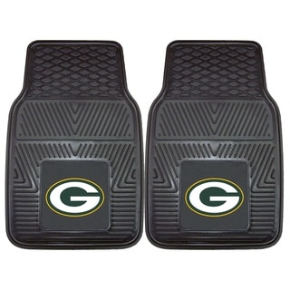 Fanmats Green Bay Packers 2-piece Vinyl Car Mats