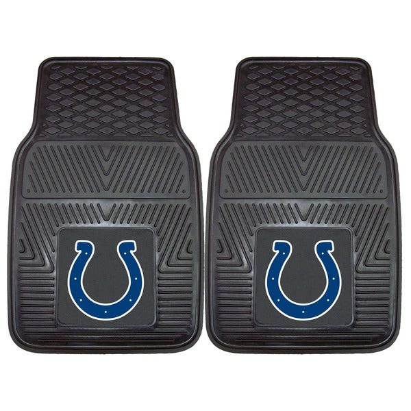 Fanmats Indianapolis Colts 2-piece Vinyl Car Mats