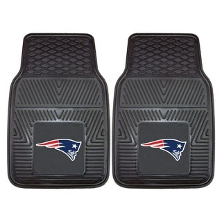 Fanmats New England Patriots 2-piece Vinyl Car Mats