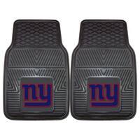 Fanmats New York Giants 2-piece Vinyl Car Mats