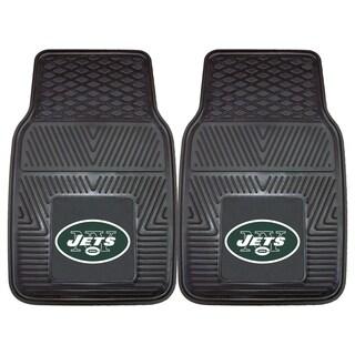 Fanmats New York Jets 2-piece Vinyl Car Mats