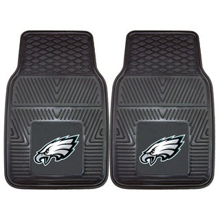 Fanmats Philadelphia Eagles 2-piece Vinyl Car Mats
