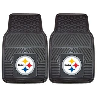 Fanmats Pittsburgh Steelers 2-piece Vinyl Car Mats