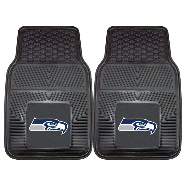 Fanmats Seattle Seahawks 2-piece Vinyl Car Mats