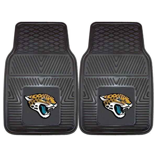 Fanmats Jacksonville Jaguars 2-piece Vinyl Car Mats