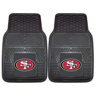 Fanmats San Francisco 49ers 2-piece Vinyl Car Mats