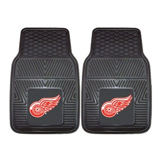 Fanmats Detroit Red Wings 2-piece Vinyl Car Mats
