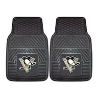 Fanmats Pittsburgh Penguins 2-piece Vinyl Car Mats