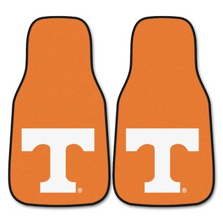 Fanmats Tennessee 2-piece Carpeted Nylon Car Mats
