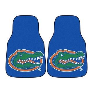 Fanmats Florida Gators 2-piece Carpeted Nylon Car Mats