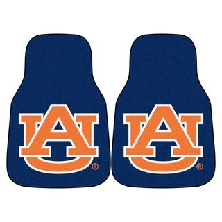 Fanmats Auburn 2-piece Carpeted Nylon Car Mats