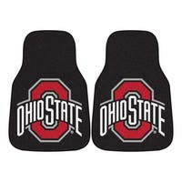 Fanmats Ohio State 2-piece Carpeted Nylon Car Mats