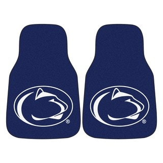 Fanmats Penn State 2-piece Carpeted Nylon Car Mats