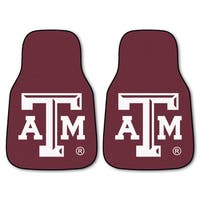 Fanmats Texas A&M 2-piece Carpeted Nylon Car Mats