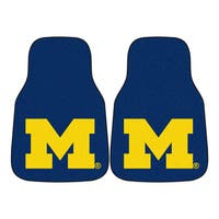 Fanmats Michigan 2-piece Carpeted Nylon Car Mats