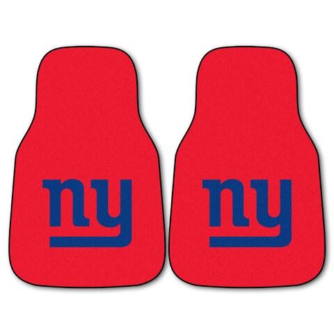 Fanmats New York Giants 2-piece Carpeted Cat Mats
