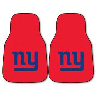Fanmats New York Giants 2-piece Carpeted Cat Mats