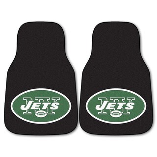 Fanmats New York Jets 2-piece Carpeted Cat Mats