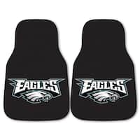 Fanmats Philadelphia Eagles 2-piece Carpeted Car Mats