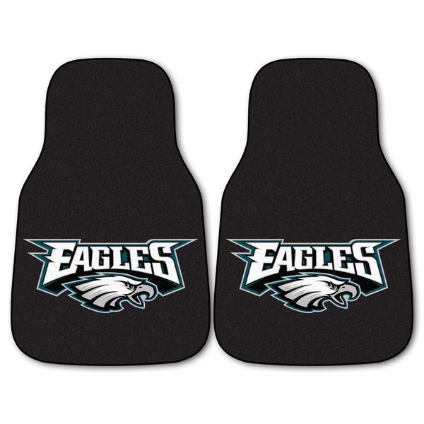 Fanmats Philadelphia Eagles 2-piece Carpeted Car Mats