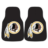 Fanmats Washington Redskins 2-piece Carpeted Nylon Car Mats