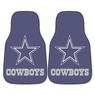 Fanmats Dallas Cowboys 2-piece Carpeted Car Mats|https://ak1.ostkcdn.com/images/products/6043091/6043091/Fanmats-Dallas-Cowboys-2-piece-Carpeted-Car-Mats-P13721831.jpg?impolicy=medium