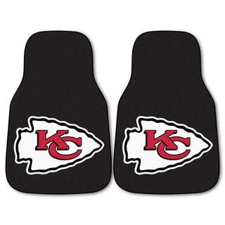 Fanmats Kansas City Chiefs 2-piece Carpeted Nylon Car Mats