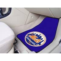Fanmats New York Mets 2-piece Carpeted Car Mats
