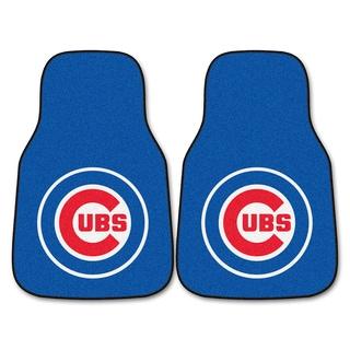 Fanmats Chicago Cubs 2-piece Carpeted Car Mats
