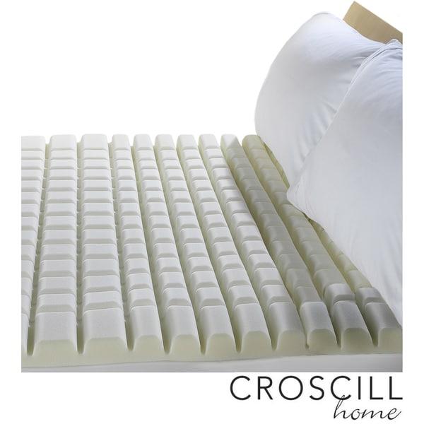 Croscill Geo-max Twin /Full-size Memory Foam Topper