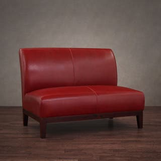 Red, Leather Living Room Furniture For Less | Overstock.com