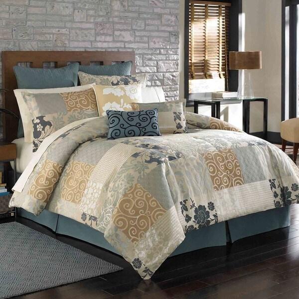 Amaya Queen-size 4-piece Comforter Set