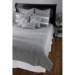 Rizzy Home Paris King-size 10-piece Duvet Cover Set with Insert - Thumbnail 0
