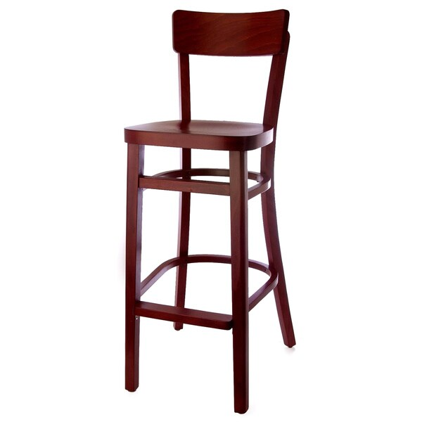 Open Back Beech Wood Barstool Free Shipping Today