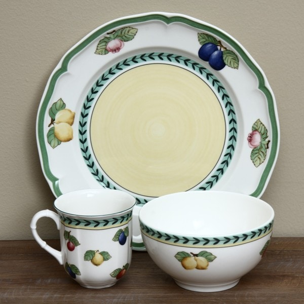 Villeroy U0026amp; Boch French Garden 12 Piece Dinnerware Set