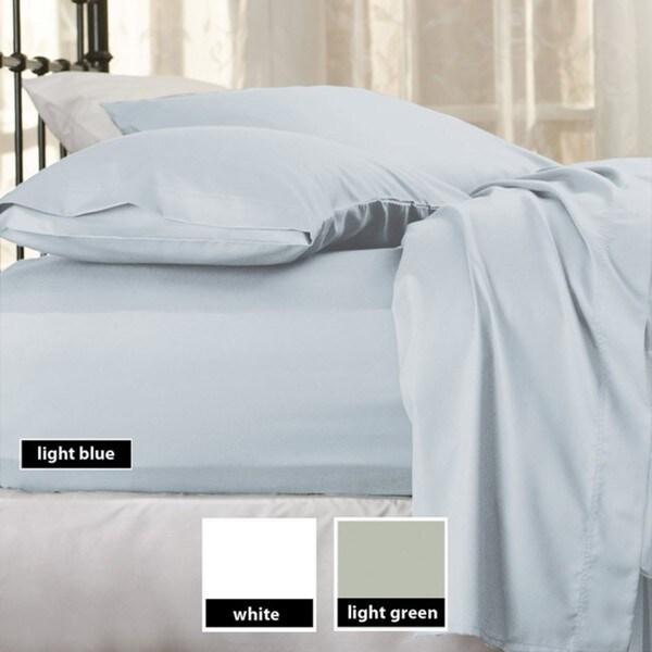 Sealy Cotton Sateen 300 Thread Count Sheet Set