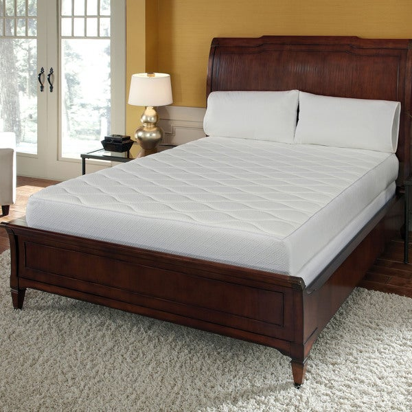 10 High Density Gel Memory Foam Queen Size Mattress W Bamboo