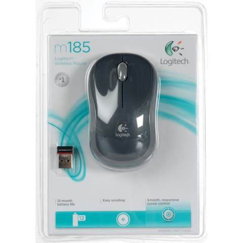 Logitech Plug-and-Play Wireless Mouse
