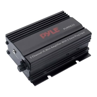 Pyle PLMPA35 Car Amplifier - 300 W PMPO - 2 Channel - Class AB
