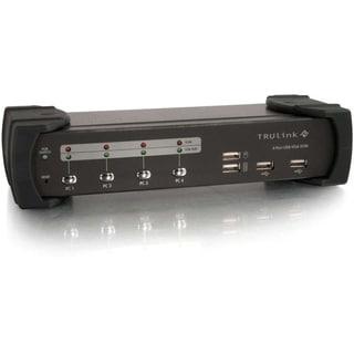 C2G TruLink 4-Port VGA/USB 2.0 KVM Switch