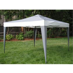 ProGarden Polyester/ Steel Grey Canopy Tent (10' x 10')|https://ak1.ostkcdn.com/images/products/6047599/ProGarden-Polyester-Steel-Grey-Canopy-Tent-10-x-10-P13725494.jpg?impolicy=medium