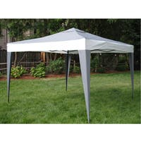 ProGarden Polyester/ Steel Grey Canopy Tent (10' x 10') - 10' x 10'