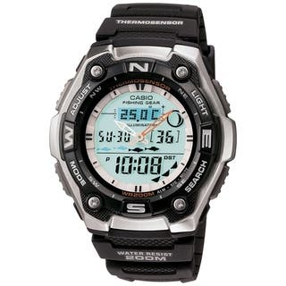 Casio Men's Fishing Gear Digital Watch|https://ak1.ostkcdn.com/images/products/6047830/P13725674.jpg?impolicy=medium