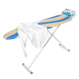 Honey-Can-Do BRD-01296 Deluxe Ironing Board with Iron Rest