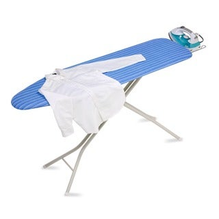 Honey-Can-Do BRD-01956 Quad-leg Ironing Board with Iron Rest