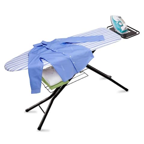 Honey Can Do Quad-leg Ironing Board with Iron Rest